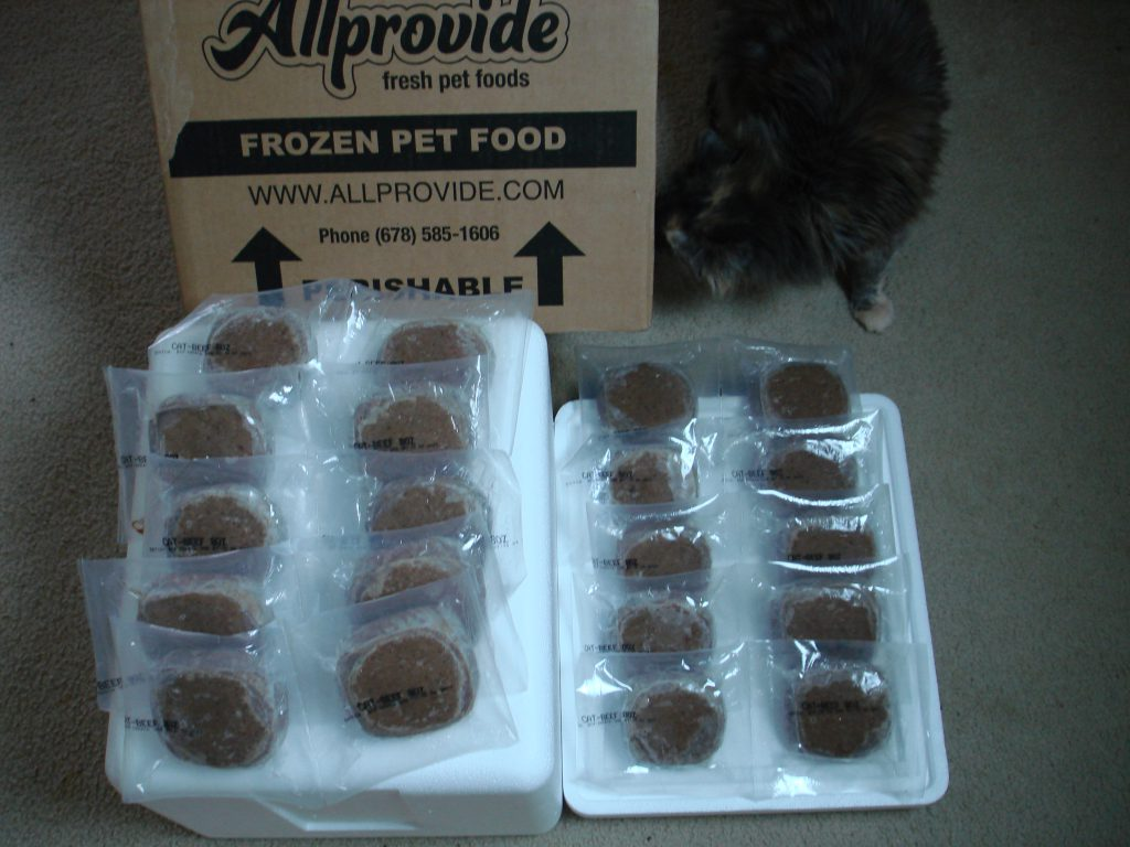 Allprovide food unboxed
