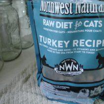 Northwest Naturals Turkey raw cat food