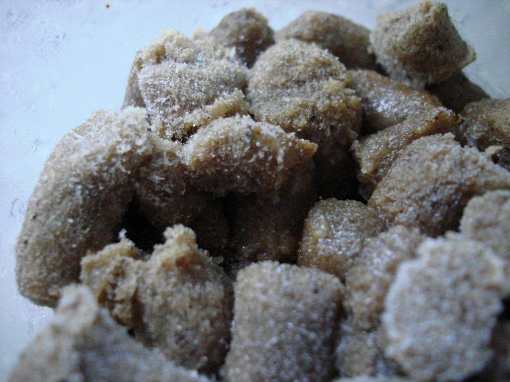 Close up NW Naturals raw turkey cat food